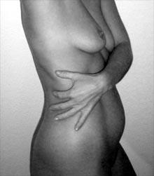 nackter Körper